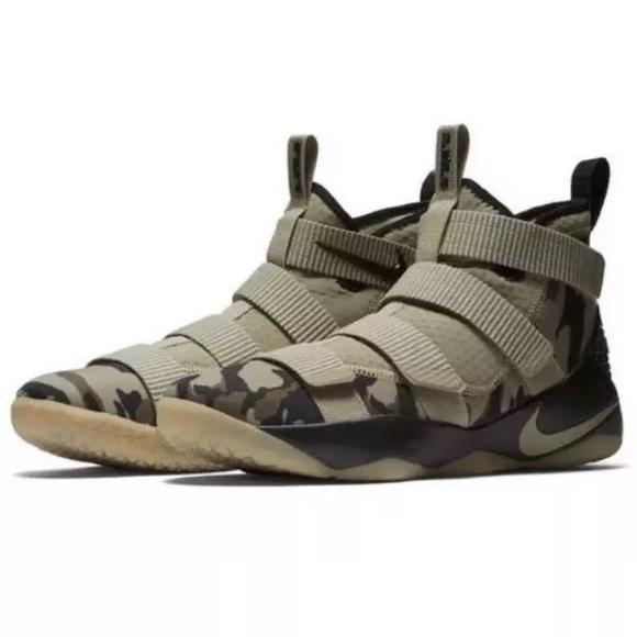 0c4163b69338 Nike Lebron Soldier XI Camo Neutral Olive Hazel. M 5bdd99e09fe4860a8df13bea